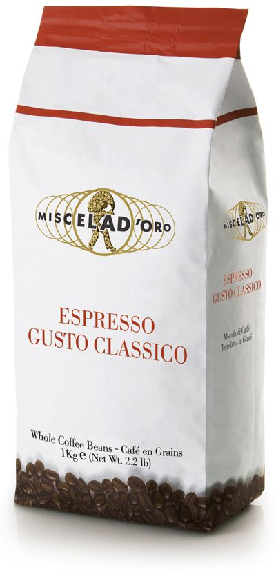 Miscela d'Oro Gusto Classico 1 kg coffee beans