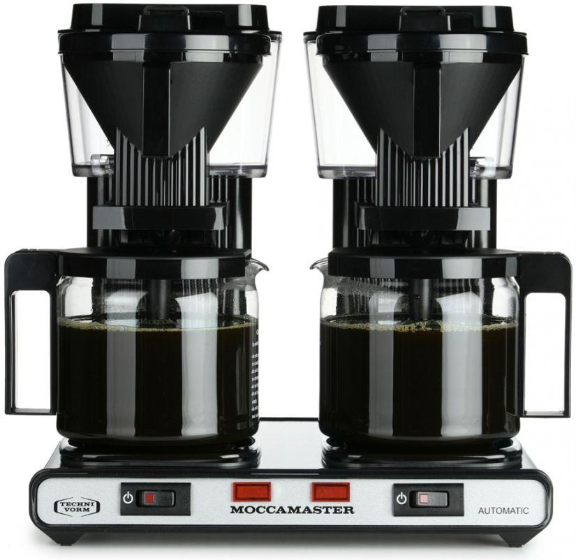 Moccamaster KBG744-AO double coffee brewer, black