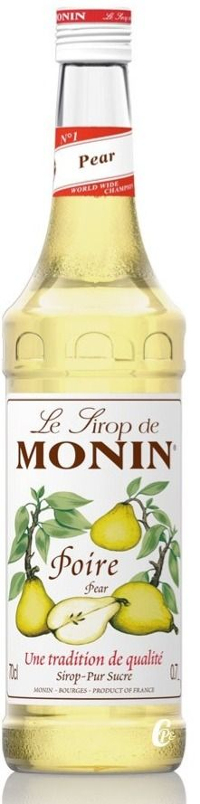 Monin Pear Syrup 700 ml