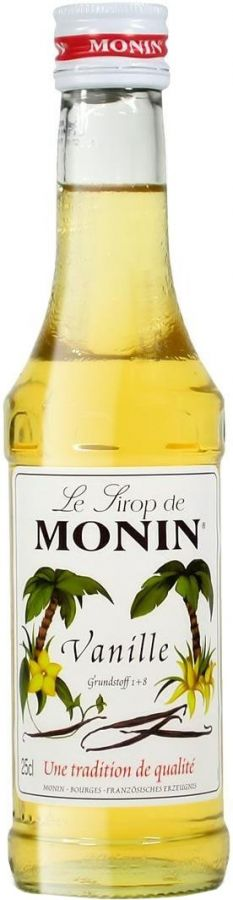 Monin Vanilla Syrup 250 ml