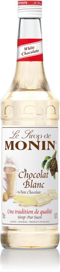 Monin White Chocolate Syrup 700 ml