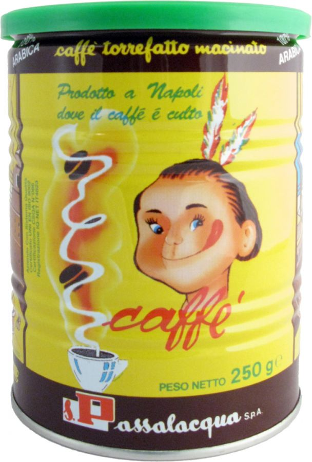 Passalacqua Mexico 250 g ground coffee tin