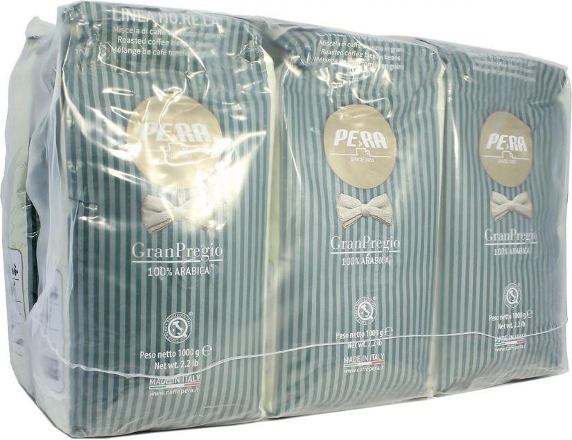 Pera Gran Pregio coffee beans 6 x 1 kg wholesale unit