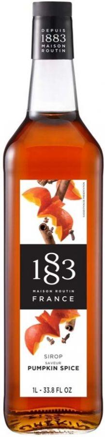 Maison Routin 1883 Pumpkin Spice Syrup 1000 ml
