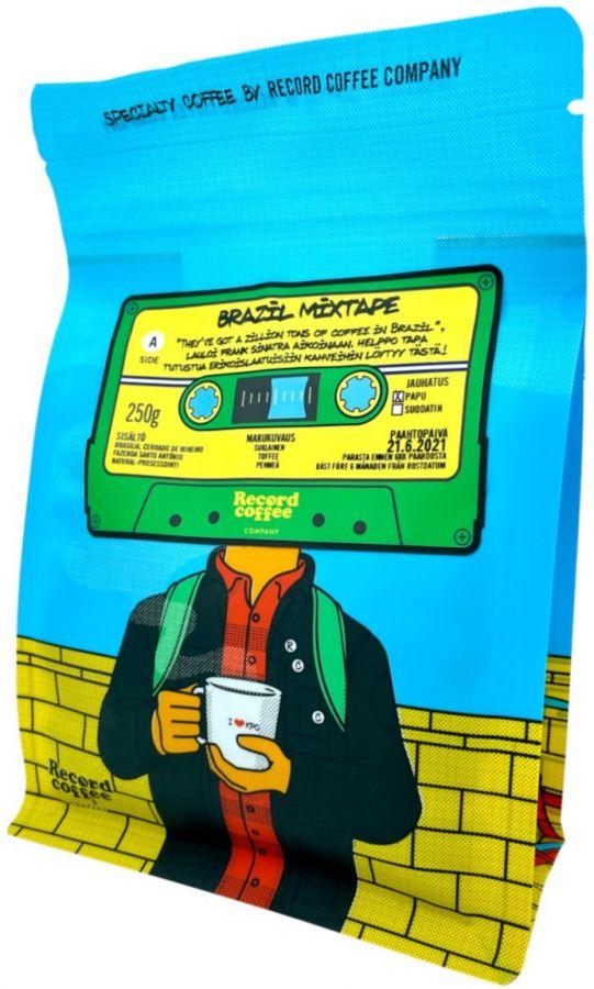 Record Coffee Company Brazil Mixtape 250 g Coffee Beans