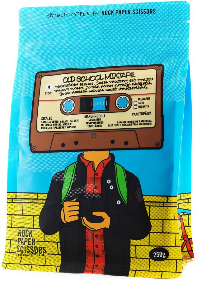 Record Coffee Company Old School Mixtape 250 g Coffee Beans