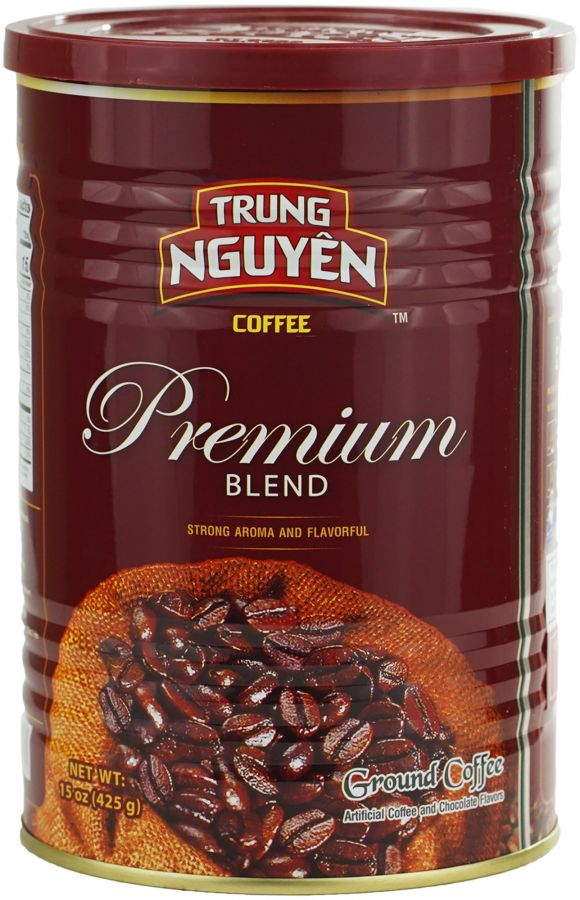 Trung Nguyen Premium Blend Ground Vietnamese Coffee 425 g Can