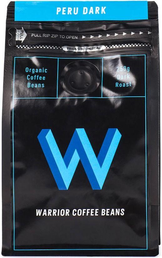 Warrior Coffee Peru Dark 250 g Coffee Beans