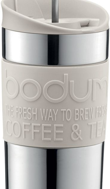 Bodum Travel Press Insulated Mug 350 Ml Crema