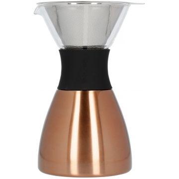 Asobu PourOver-PO300 Insulated Coffee Maker, Copper/Black