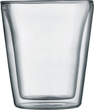 Bodum Canteen Double Wall Glass 200 ml, 2 pcs