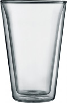 Bodum Canteen Double Wall Glass 400 ml, 2 pcs