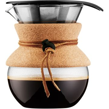 Bodum Pour Over 4 Cups Coffee Maker with Filter 500 ml