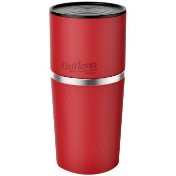 Cafflano Klassic All in One Coffee Maker, Red