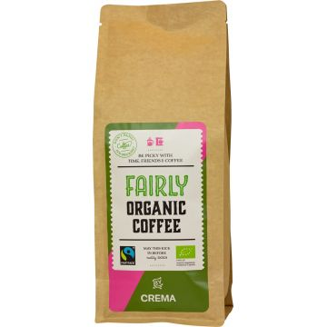 Crema Fairly Organic Coffee 500 g