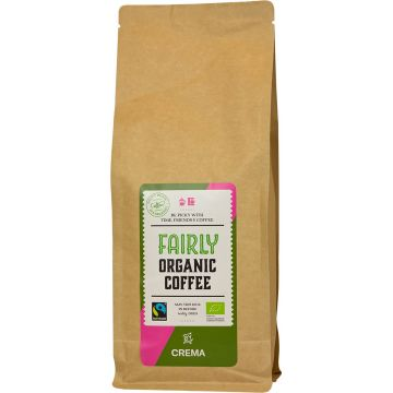 Crema Fairly Organic Coffee 1 kg