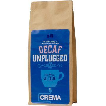 Crema Unplugged Decaf coffee 250 g