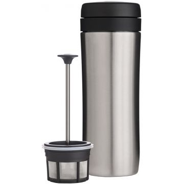 Espro Coffee Travel Press Brushed Steel, 350 ml