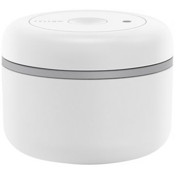 Fellow Atmos Vacuum Canister 400 ml, Matte White Steel