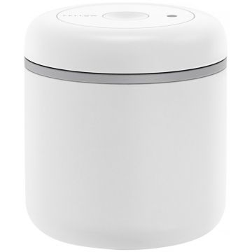 Fellow Atmos Vacuum Canister 700 ml, Matte White Steel