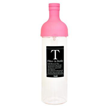 Hario Filter-in Bottle Cold Brew Tea Bottle 750 ml, Pink
