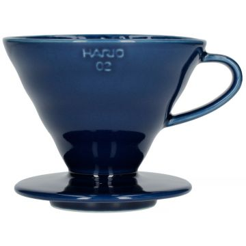 Hario V60 Ceramic Dripper Size 02, Indigo Blue
