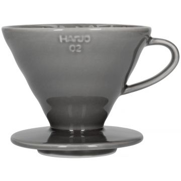 Hario V60 Ceramic Dripper Size 02, Gray