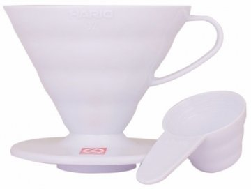 Hario V60 Dripper Size 02 White Plastic