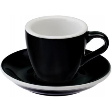 Loveramics Egg Black Espresso Cup 80 ml