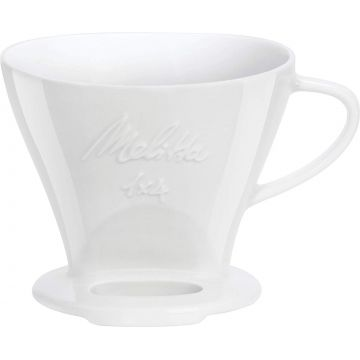 Melitta Porcelain Filter Cone 1x4, White