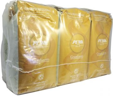Pera Gran Gusto coffee beans 6 x 1 kg wholesale unit