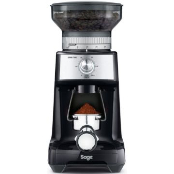 Sage the Dose Control Pro Coffee Grinder, Black Truffle