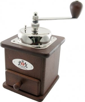 Zassenhaus Brasilia Coffee Grinder, Beech Stained