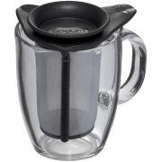 Bodum Yo-Yo Set glass mug and tea filter