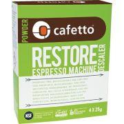 Cafetto Restore Organic Descaling Powder 4 x 25 g sachets