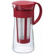 Hario Mizudashi Coffee Pot for Cold Brew 600 ml, red