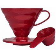 Hario V60 Dripper Size 02 Red Plastic
