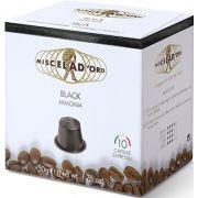 Miscela d'Oro Black Nespresso Compatible Coffee Capsules 10 pcs