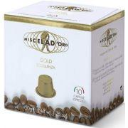 Miscela d'Oro Gold Nespresso Compatible Coffee Capsules 10 pcs