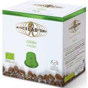 Miscela d'Oro Espresso Green Nespresso compatible coffee capsules 10 pcs